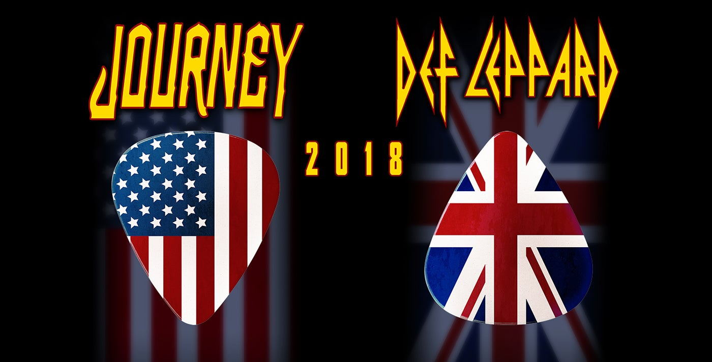 Journey and Def Leppard