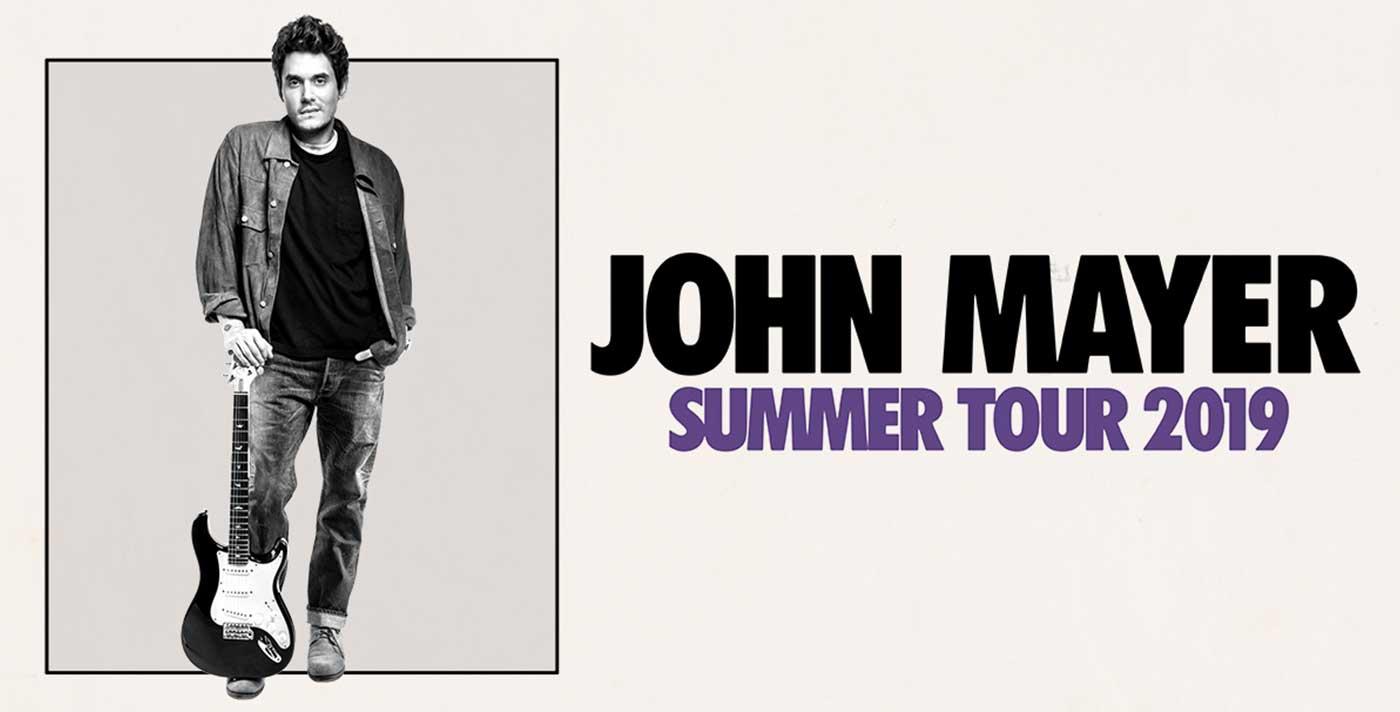 John Mayer Summer Tour 2019