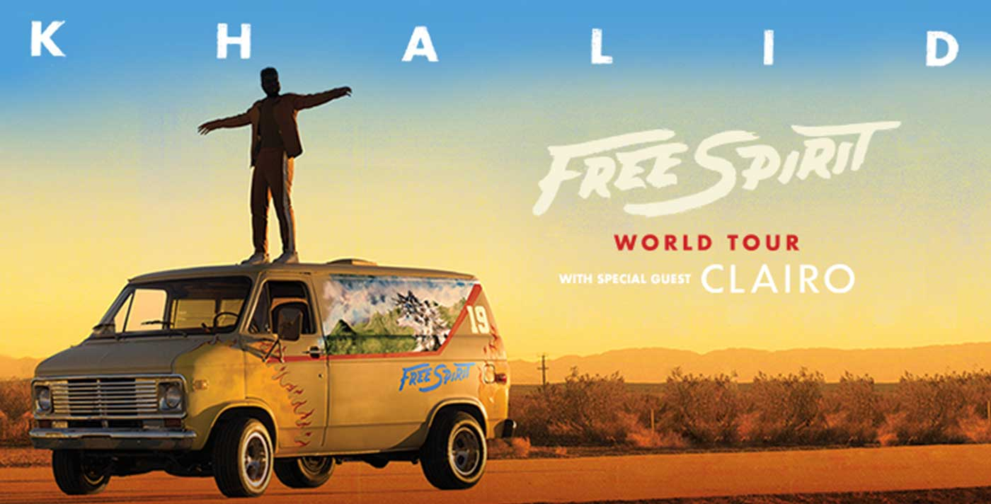 Khalid Free Spirit World Tour