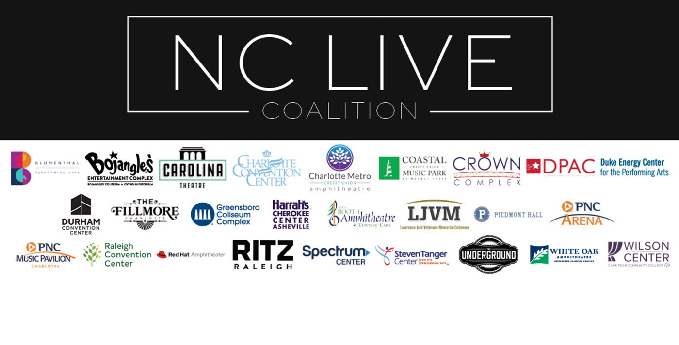 More Info for Spectrum Center, NC Live Coalition Moving Forward To Help Bring Live Entertainment Back