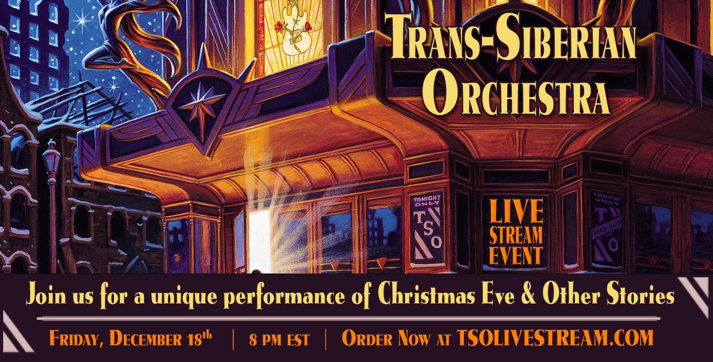 LIVESTREAM: Trans-Siberian Orchestra