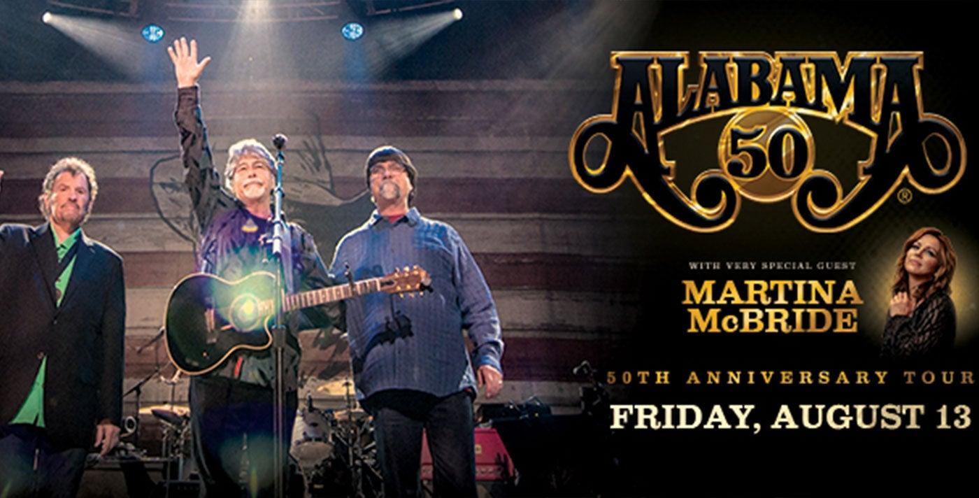 "Alabama ""50th Anniversary Tour"""