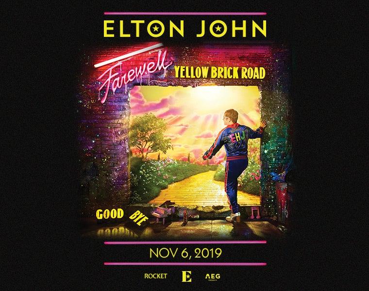 888a035f9 Elton John s Farewell Yellow Brick Road Tour