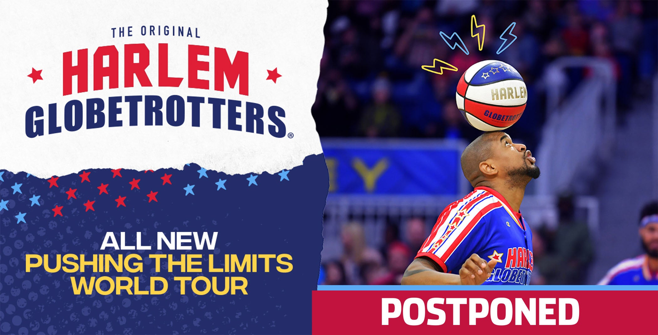 Postponed: Harlem Globetrotters