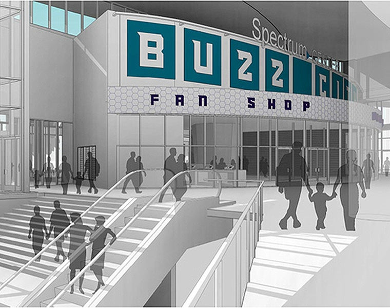 Hornets Sports & Entertainment Announces Plans to Switch Locations of Spectrum Center Box Office and Hornets Fan Shop