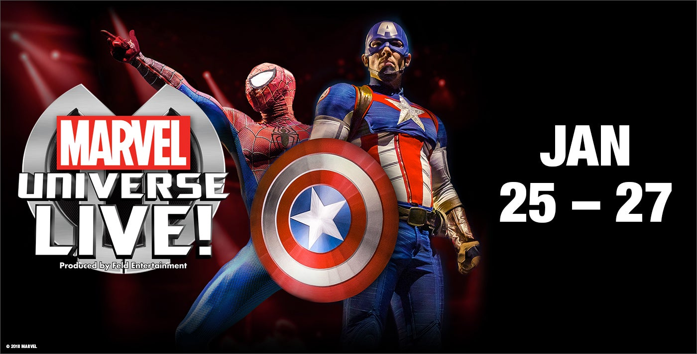 Things to do in Rock Hill, SC for Kids: Marvel Universe Live! , Spectrum Center