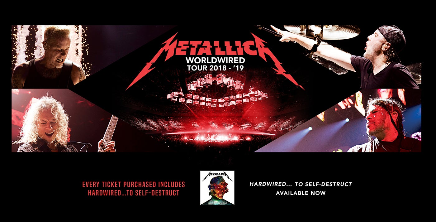 Metallica Tour Ticketmaster